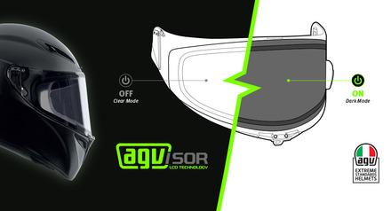 AGVisor VISOR RACE 2 + LCD picture