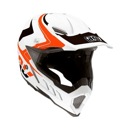 AX-8 Evo Klassik White Black Orange picture