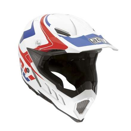 AX-8 Evo Klassik White Red Blue picture
