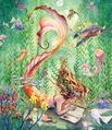 Mermaid's Quiet Moment
