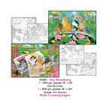 Amy Rosenberg Puzzles plus Coloring pages