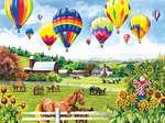 Balloons over Fields