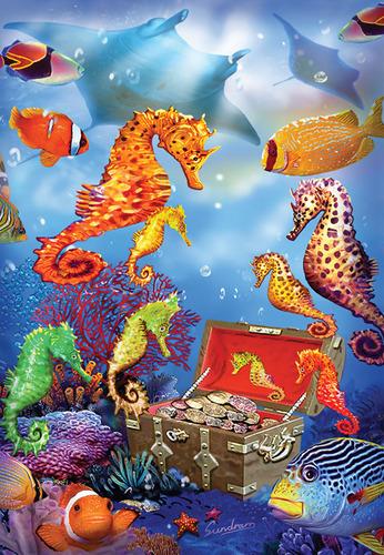 Seahorse Treasure picture