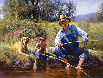 Fishing with Grandpa picture