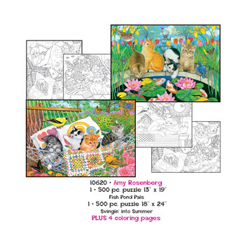 Amy Rosenberg Puzzles plus Coloring pages picture