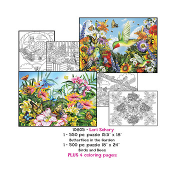 Lori Schory  Puzzles plus Coloring pages picture
