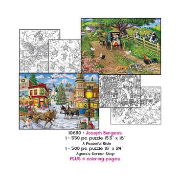 Joseph Burgess Puzzles plus Coloring pages picture