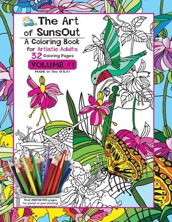 The Art of SunsOut Adult Volume 1 picture