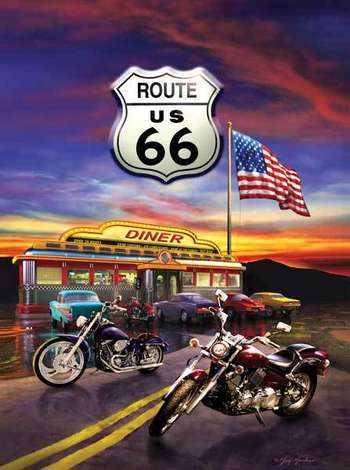 Route 66 Diner picture
