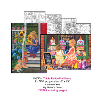 Tricia Reilly-Matthews  Puzzles plus Coloring pages picture