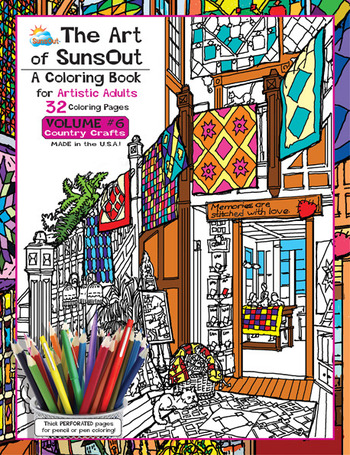 The Art of Sunsout Adult Volume 6 Country Crafts picture