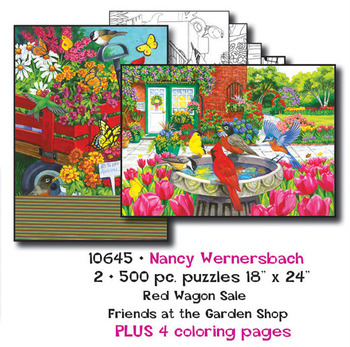 Nancy Wernersbach  Puzzles plus Coloring pages picture