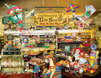An Old Fashioned Toy Shop picture