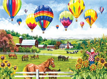 Balloons over Fields picture