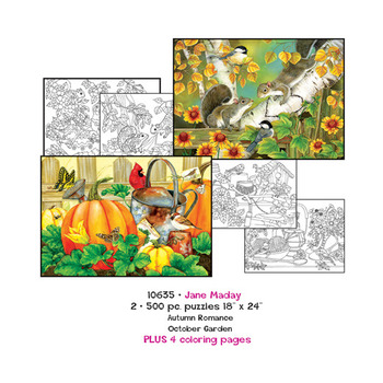 Jane Maday Puzzles plus Coloring pages picture