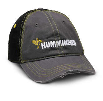 Humminbird Gray Mesh Cap