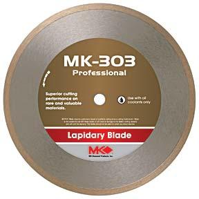 "MK-303 10"" x .040"" x 5/8"" - Continuous Rim picture"