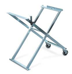 Folding Saw Stand with Casters (traditional saw frames) picture