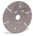 "DiamondX 36 Grit Flat Cutting and Grinding Disc 6"" x .137 x 7/8"""