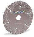 "DiamondX 36 Grit Flat Cutting and Grinding Disc 6"" x .137 x 7/8"""