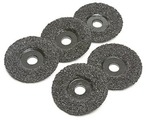 4-1/2&quot; 8 Grit Sawtec Abrasive Grinding Discs - 5 Pack