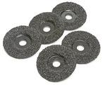 "4-1/2"" 8 Grit Sawtec Abrasive Grinding Discs - 5 Pack"