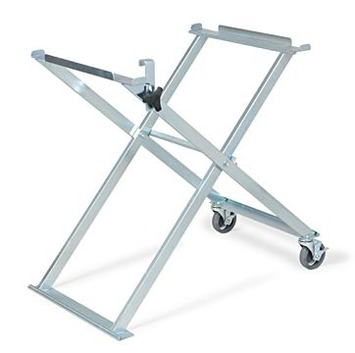 Folding Saw Stand with Casters (tube saw frames) picture