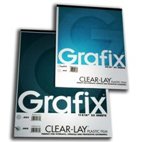 Clear Lay Pad 25 shts .003&quot; 19x24&quot; picture