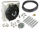 "Xtruded Double Stacked Trans Oil cooler Kit - Universial 1/2"" Trans Lines"