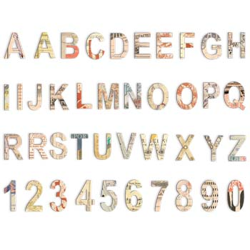 Lille: Chipboard Alpha & Numbers picture
