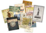 Epicurean Mini Ephemera Pack (15 pieces)