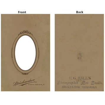 Vintage Frame Cover: Small Oval picture