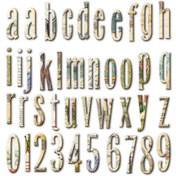 Conservatory: Chipboard Alphabet picture