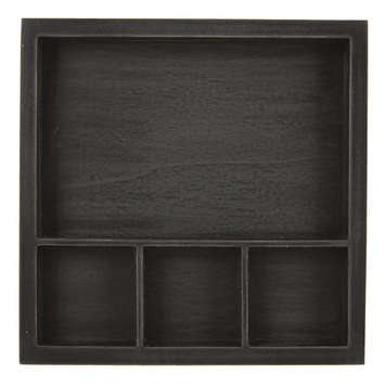 Solo Shadowbox Tray: Black picture