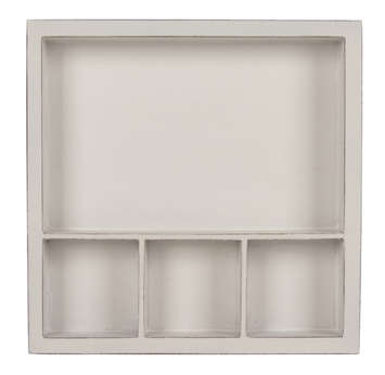 Solo Shadowbox Tray: White picture
