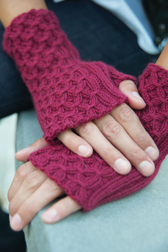 Sangria Fingerless Gloves picture
