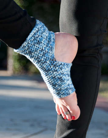 """Aum"" Yoga Socks picture"