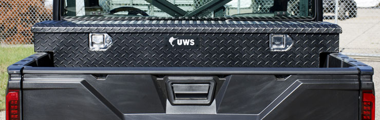 UWS UTV and ATV tool boxes are designed to transport cargo and keep tools on hand in the field of on the job. & Storage Solutions Utility Chest Series UTV / ATV | UWS Truck ...