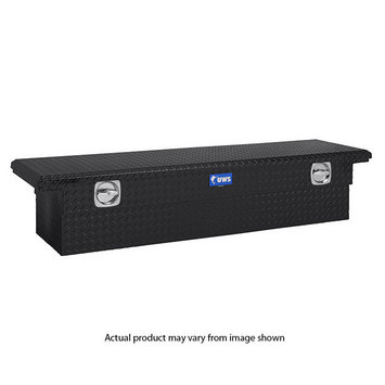"72"" Single Lid Crossover - Secure Lock Handle Low Profile-BLK picture"