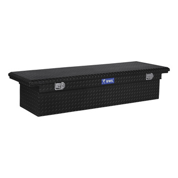 "72"" Single Lid Crossover Low Profile-BLK picture"