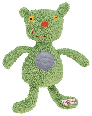 SALE! iBedoo squeaker in green picture