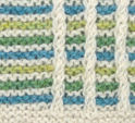 Mikado #5: Ivory, Turquoise, Apple Green, Spring Green
