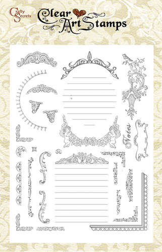 Frame it Clear Art Stamp picture