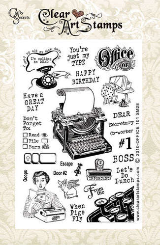 Office 101   Clear Art Stamps picture