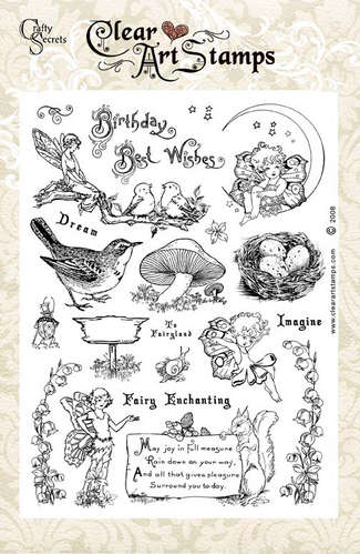 Fairyland   Clear Art Stamp picture
