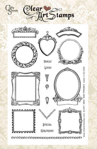 Mini Frames Clear Art Stamp picture