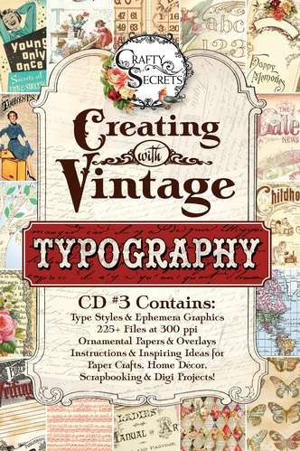 Creating with Vintage Typography CD #3 picture