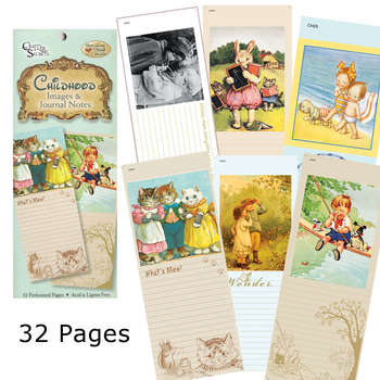 Childhood Image & Journal Notes Booklet picture