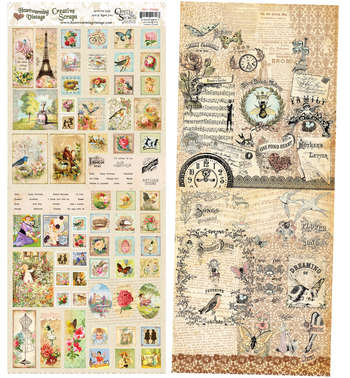 CS18-DS Mini Vintage  Creative Scraps Double Sided picture