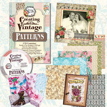 Creating with Vintage Patterns CD #1 picture